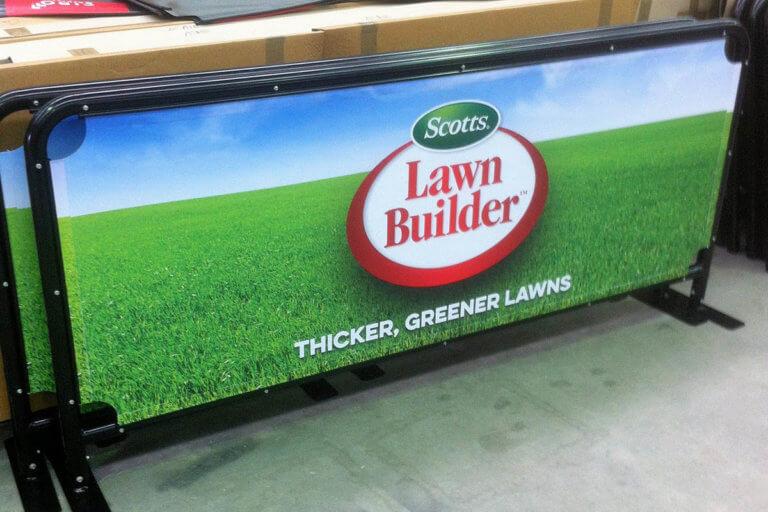 Cafe Barrier - Lawn Builder