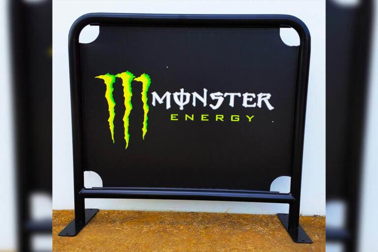 Cafe Barrier - Monster