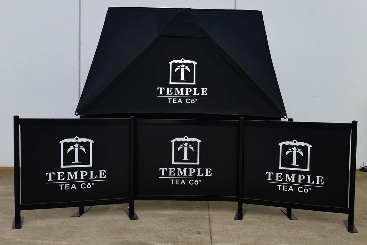 Cafe Pro Umbrella - Temple Tea Co