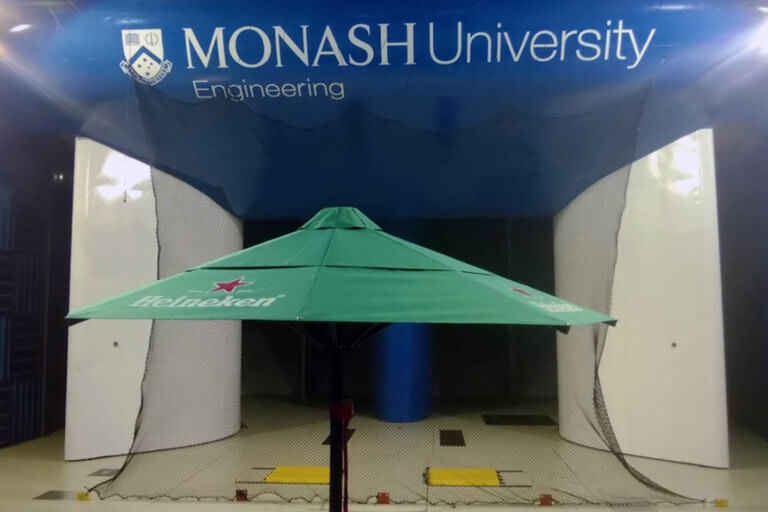 Wind Rated Umbrella Testing
